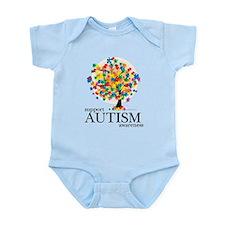 Autism Tree Infant Bodysuit