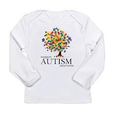 Autism Tree Long Sleeve Infant T-Shirt