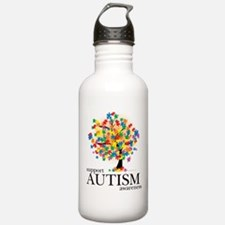 Autism Tree Water Bottle