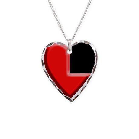 My heart is in Hyrule Necklace Heart Charm