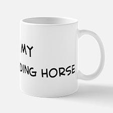 I Love Ukrainian Riding Horse Mug