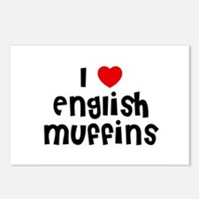 I * English Muffins Postcards (Package of 8)