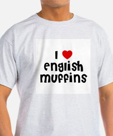 I * English Muffins Ash Grey T-Shirt