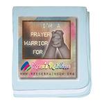 Prayer Warriors baby blanket