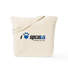 I Love spcaLA Tote Bag