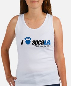 I Love spcaLA Women's Tank Top
