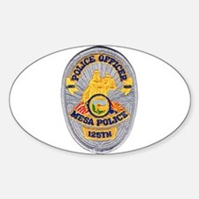 Mesa Police 125th Decal