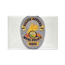 Mesa Police 125th Rectangle Magnet