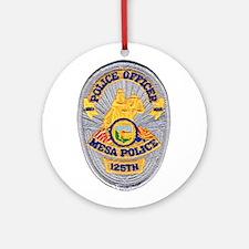 Mesa Police 125th Ornament (Round)