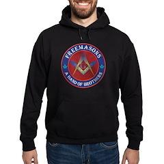 Freemasons. A Band of Brothers Hoodie (dark)
