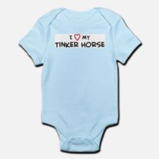 I Love Tinker Horse Infant Creeper