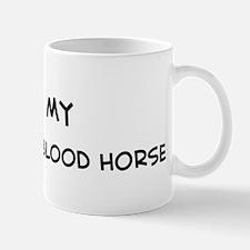 I Love Swiss Warmblood Horse Mug