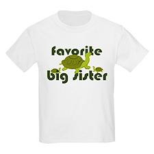 Favorite Big Sister T-Shirt