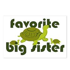 Favorite Big Sister Postcards (Package of 8)