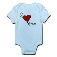 I love Grace Infant Bodysuit