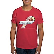 Hank Lee Brown CDH Awareness Ribbon T-Shirt