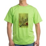 Statue of Liberty Green T-Shirt