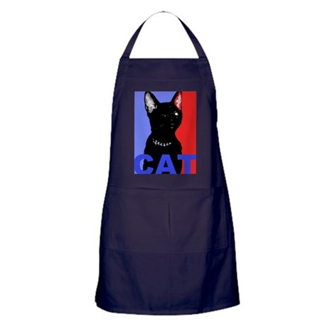CAT FOR PRESIDENT Apron (dark)