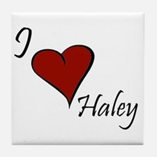 I love Haley Tile Coaster