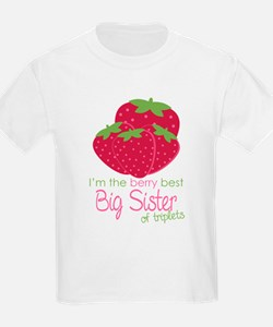 Berry Sister Triplets T-Shirt