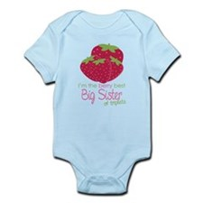 Berry Sister Triplets Infant Bodysuit