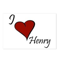 I love Henry Postcards (Package of 8)