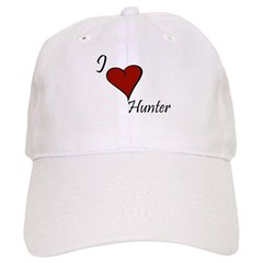 I love Hunter Baseball Cap