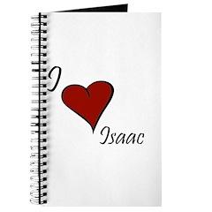 I love Isaac Journal