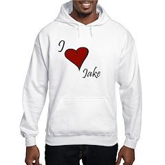 I love Jake Hoodie