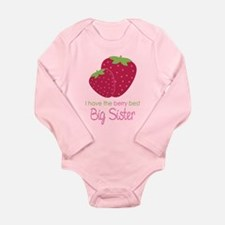 Berry Best Sister Long Sleeve Infant Bodysuit