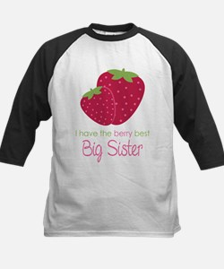 Berry Best Sister Kids Baseball Jersey