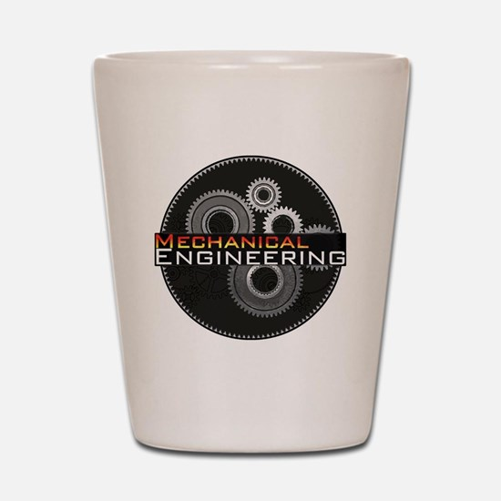 Mechanical Engineering Shot Glass