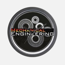 Mechanical Engineering Wall Clock