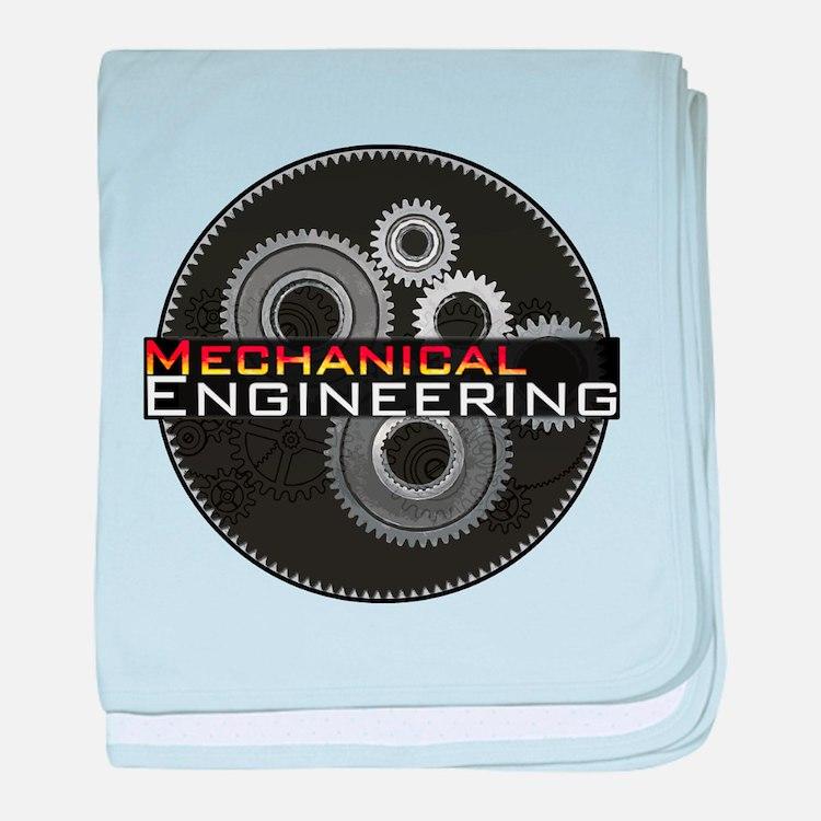 Mechanical Engineering baby blanket