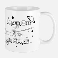 Laser Cat In Space Mug
