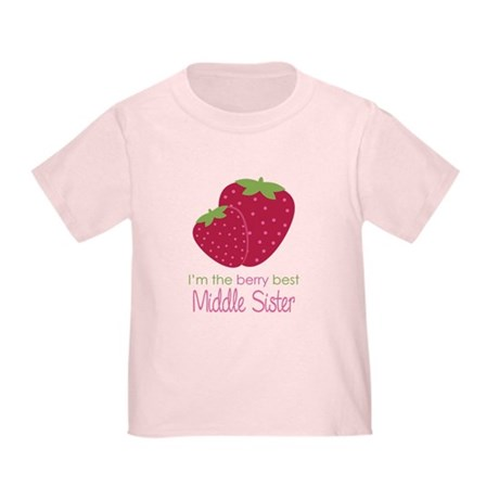 Berry Middle Sister Toddler T-Shirt
