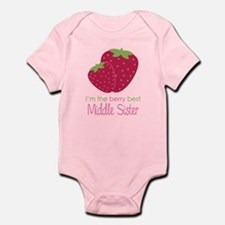Berry Middle Sister Onesie