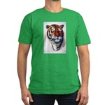 Animal (Front) Men's Fitted T-Shirt (dark)