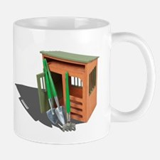 Garden Shed and Tools Mug
