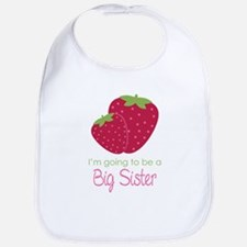 Strawberry Sister to be Bib