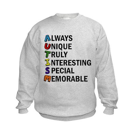 Awesome Autism Kids Sweatshirt