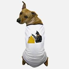 Egyptian Cat Sun Pyramid Dog T-Shirt