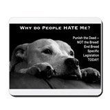 Staffordshire bull terriers Mouse Pads
