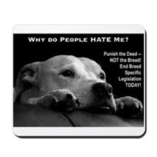 Pitbull Dogs - Ban BSL Mousepad