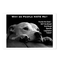 Pitbull Dogs - Ban BSL Postcards (Package of 8)