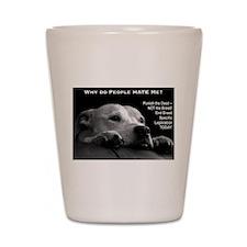 Pitbull Dogs - Ban BSL Shot Glass