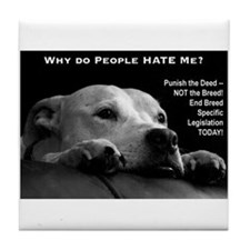 Pitbull Dogs - Ban BSL Tile Coaster