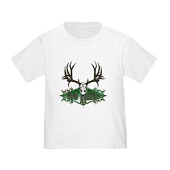 Bow hunter,deer skull T
