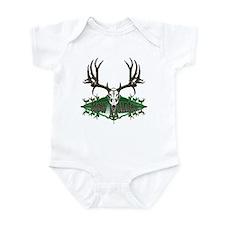 Bow hunter,deer skull Infant Bodysuit