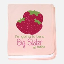 Berry Sister 2Be Twins baby blanket